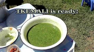 Грузинский соус ТКЕМАЛИ. Amazing Georgian food: sauce TKEMALI.