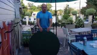 Fermob 38 Inch Folding Bistro Table - Get The Details From Chad Harris From Thegardengates.com