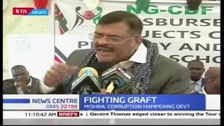 Kesses MP Mishrap lauds President Kenyatta on graft war