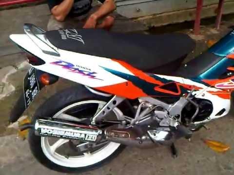 Honda Nova Dash 125cc Samarinda, Kalimantan Timur  YouTube