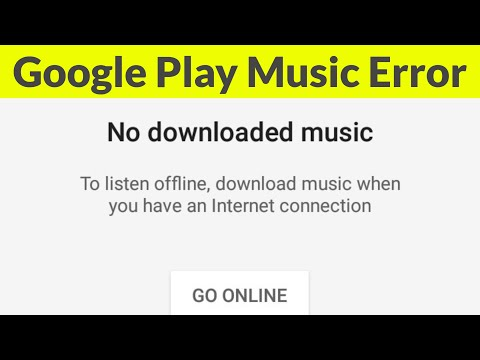 Fix Google Play Music Not Showing Songs-No Music Available Error