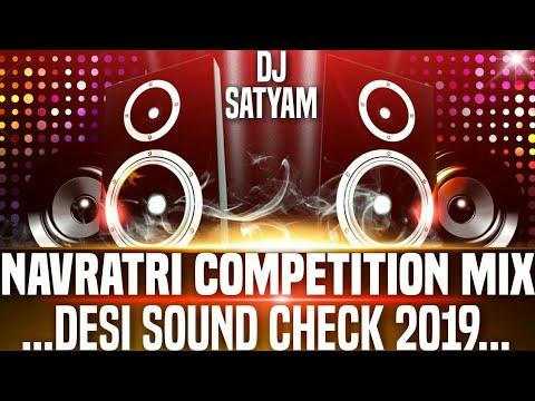 Navratri Sound Check 2019 Competition Mix Hard Bass Dj Satyam