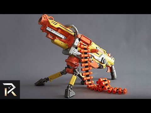 10 Powerful NERF Weapons Kids Shouldn't Play With