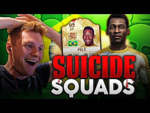 pele in suicide squads  fifa 16 ultimate team