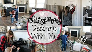CHRISTMAS DECORATE WITH ME 2018 :: DECORATING FOR CHRISTMAS :: CHRISTMAS EDITION