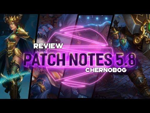 Patch Notes 5.8: CHERNOBOG NEW SLAVIC GOD! VOODOO AND  POLYNESIAN SOON! - Incon - Smite -