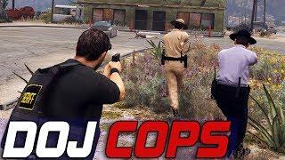 Dept. of Justice Cops #541 - Ammu-Nation Duel
