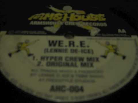 Lennie De-Ice - We.r.e Original Mix