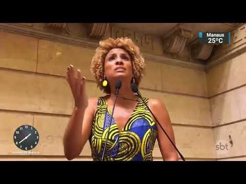 Políticos e familiares cobram apuração da morte de Marielle Franco | SBT Notícias (15/03/18)