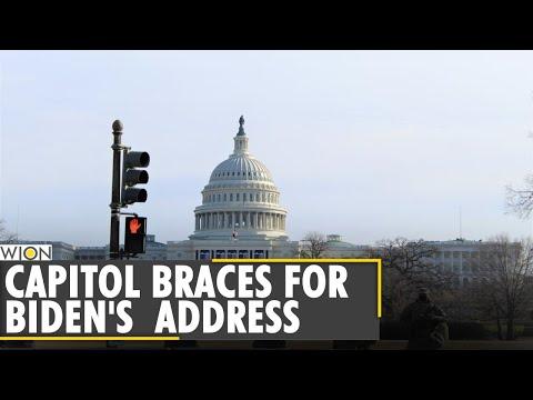 US Capitol on high alert for Joe Biden's first address to Congress | Biden completes 100 days| World