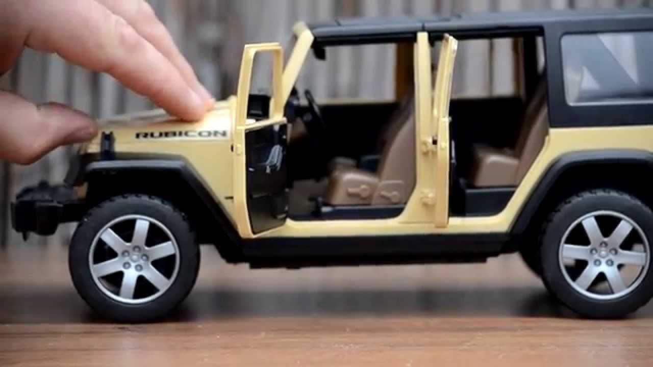 Bruder New 2015 Neu Jeep Wrangler Unlimited Rubicon Bruder
