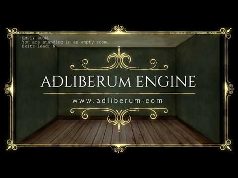 ADLENGINE   MULTIPLAYER TEXT ADVENTURE ROLEPLAYING ENGINE    PROMO VIDEO