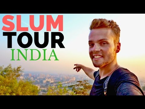Visiting an INDIAN SLUM (Overwhelming) Documentary - Mumbai