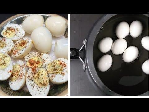 Egg/Anda - 5 मिनट में कुकर में अंडा उबालने का तरीका | How to boil EGGS perfectly|Quick Egg boil Reci Mp3