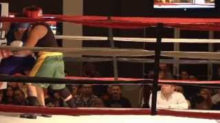 Dianna Fazzini, LASD/TST vs. Shannon Lopez, LAPD (Blue Headgear) (165lbs)