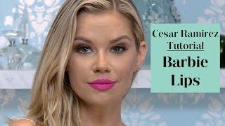 Barbie Lips Makeup Tutorial