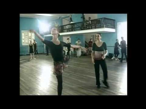 Ballet Nacional de Cuba en clases.