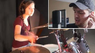 Bliss - Muse; Cover (drums, keys, vocals collaboration)