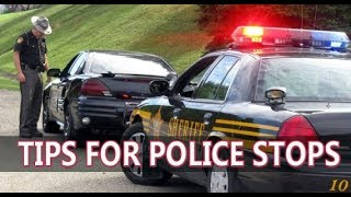What To Do When Stopped By Police (Cops) In The USA - Tourist Tips And Advice
