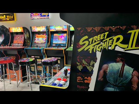 STREET FIGHTER ll COUPLES CHALLENGE + BIG SURPRISE!  Arcade1up Capcom Legqcy from The 3rd Floor Arcade with Jason