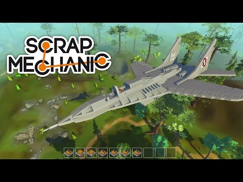 Scrap Mechanic MiG-29 Fulcrum fighter jet aircraft [Military vehicles]