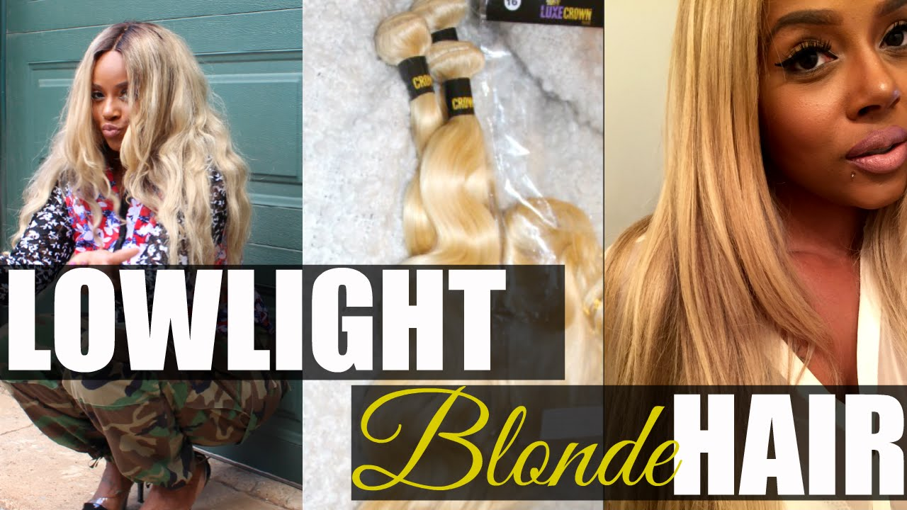 How To Dyelow Light 613 Blonde Hair Weave Youtube