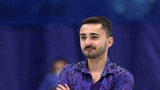 Кевин Аймоз. Короткая программа. Мужчины. NHK Trophy. Гран-при по фигурному катанию 2019/20