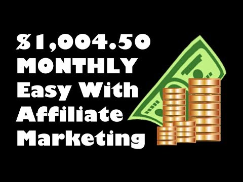 How To Make Money Online With Affiliate Marketing The Easy Way | 2018 thumbnail