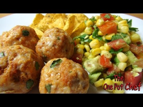 Mexican Meatballs with Salsa Salad | One Pot Chef