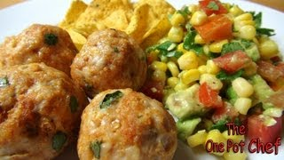 Mexican Meatballs With Salsa Salad - Recipe