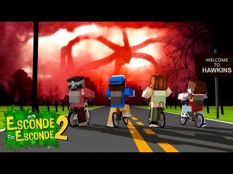 Minecraft: STRANGER THINGS! (Esconde-Esconde 2)