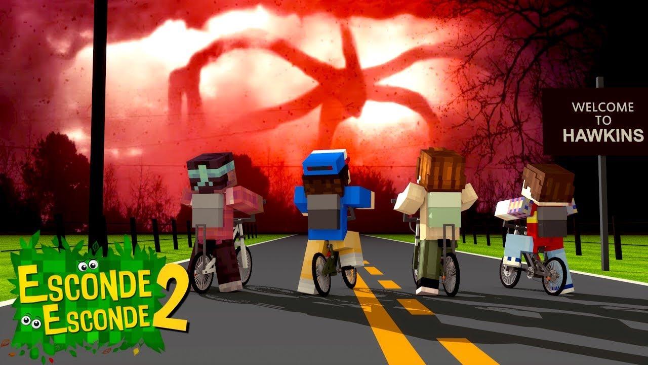 Minecraft: STRANGER THINGS! (Esconde-Esconde 11)