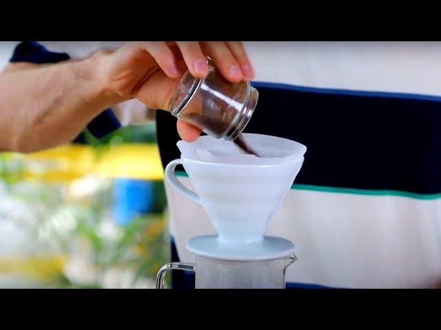 Jak zaparzyć kawę w dripperze V60