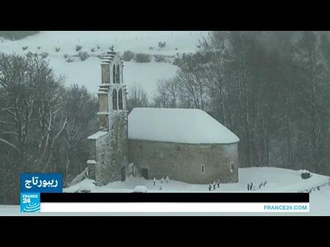 أبراج الكنائس في وادي -أور- بفرنسا.. حكاية المكان وتاريخه