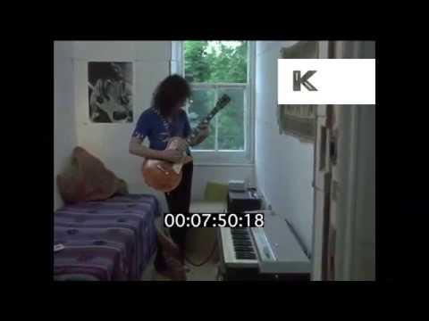 Rare Footage Marc Bolan at Home, 1970 London, Singing Children of Rarn