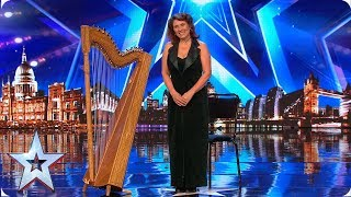 FIRST LOOK: Ursula plays the harp like no other | BGT 2019