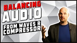 Balancing Dialog with Waves Audio R Compressor & Vocal Rider