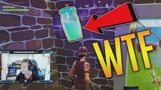 SLURP JUICE BUG??! - Fortnite Battle Royale Funny - WTF Moments Episode. 38
