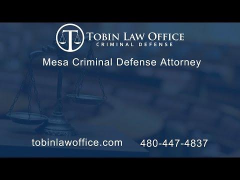 Mesa Criminal Defense Attorney Tim Tobin