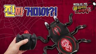 클라이밍 스파이더 움직이는 거미 RC