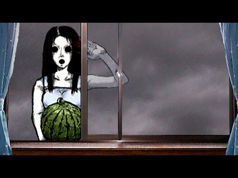 スイカを持った変な幽霊と鬼ごっこする【実況】 - YouTube