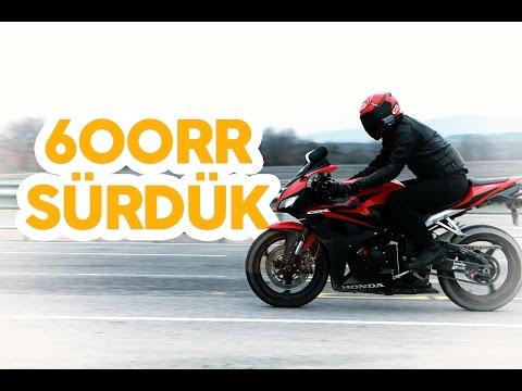 HONDA CBR 600 RR Test Sürüşü | MotorcuAbi 600RR Coşturuyor :P
