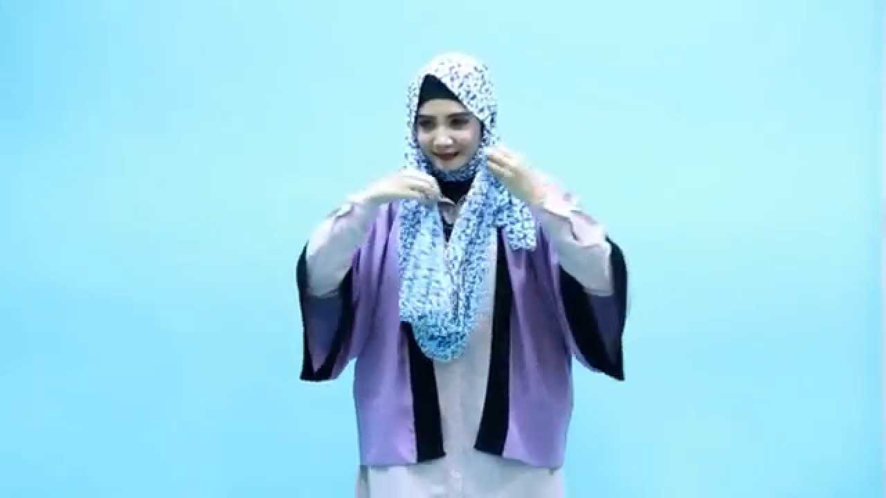 Tutorial Hijab Zaskia Sungkar Asimetris Drappery YouTube
