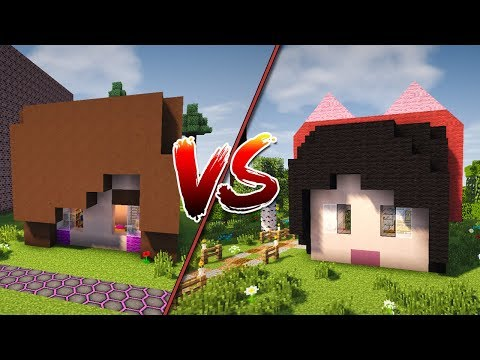 Casa da Julia Minegirl vs Casa da Luluca