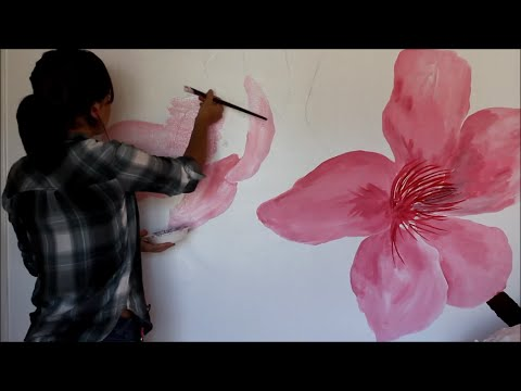 Painting My Bedroom Wall!