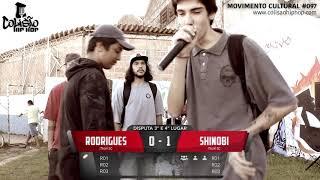 Colisão Hip Hop #099 - Rodrigues x Shinobi | 3o e 4o Lugar