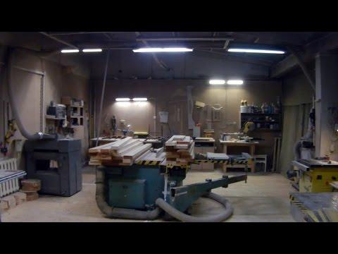 Столярная мастерская в гараже. Планировка