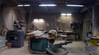 Столярная мастерская в гараже. Планировка(, 2017-01-23T06:25:47.000Z)