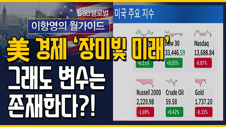[이항영의 월가이드] 美 경제 '장밋빛 미래'그래도 변수는 존재한다?! / 머니투데이방송 (증시, 증권)