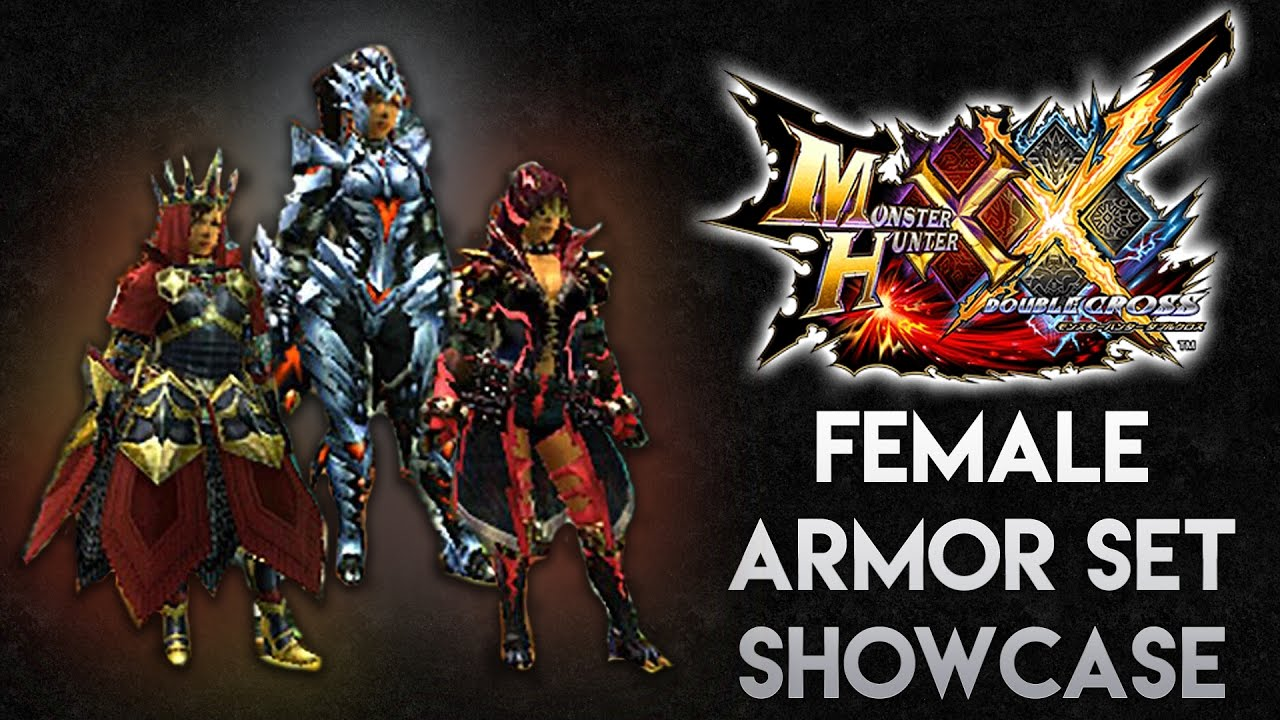 Monster Hunter Generations Ultimate Female Armor Showcase Lrhr